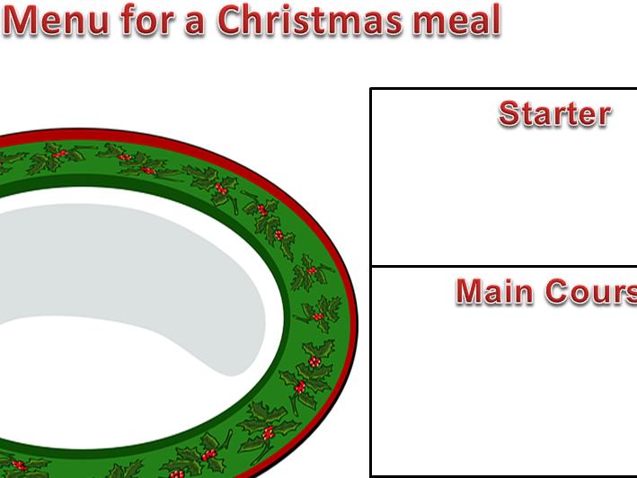 KS1 & 2 Set of 11 Christmas themed writing borders