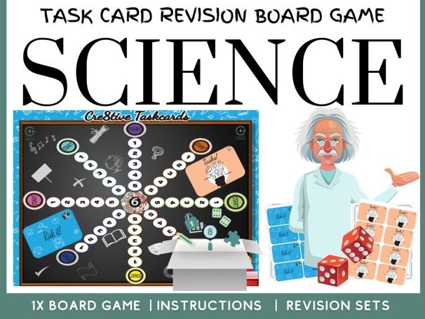 Science Task Card Board Game