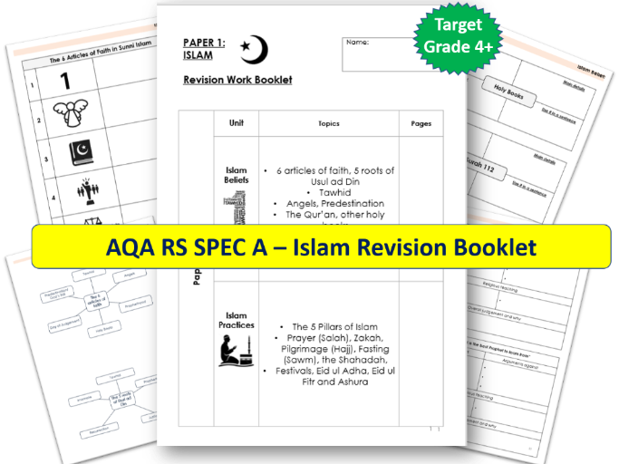 AQA GCSE RS Islam Revision Booklet