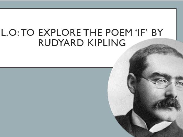 """""""If""""-Rudyard Kipling-IGCSE English Lit"""