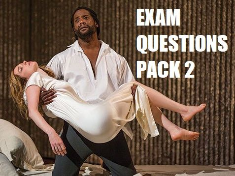 A-Level Othello Exam Question Pack 2 (AQA English Literature A, 7712)