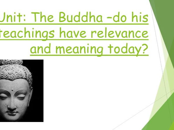 KS3 Unit of Work on Buddhism and the Buddha's teachings