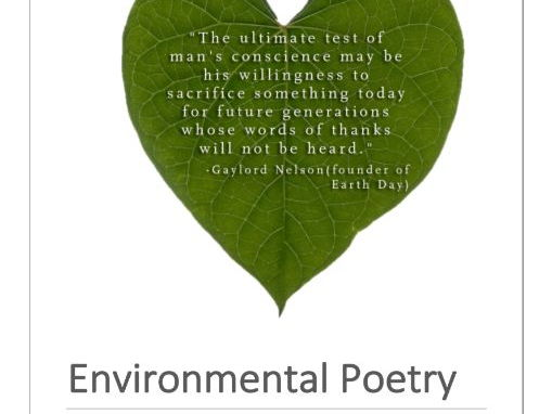 the environment and poetry Both the method and the myth speak to the latent connection between poetry and architecture there's the obvious connection that many poems rely on the built environment as memorable, resonant backdrops for their narratives and lyrics.