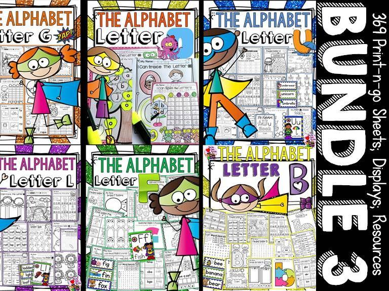 PHONICS: PHONEMIC AWARENESS BUNDLE 3 {GOULFB}