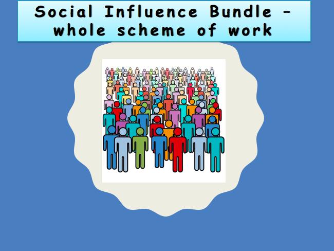 Social Influence Scheme of Work OCR 9-1