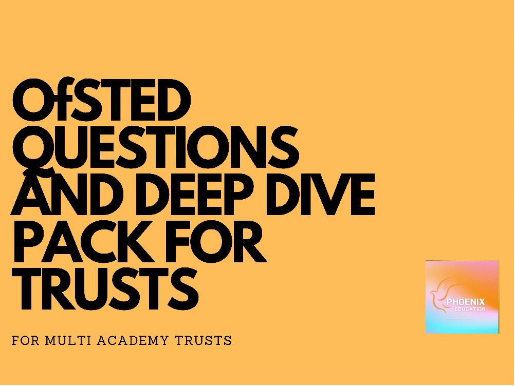 Ofsted Questions Pack for MATs