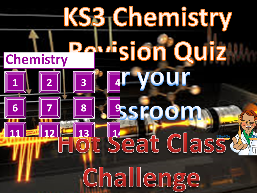 KS3 CHEMISTRY INTERACTIVE REVISION QUIZ