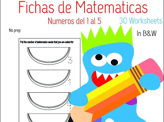 Spanish Maths Worksheets By Paulinarl06 Teaching Resources Tes