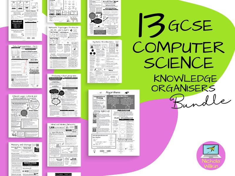 Computer Science GCSE 9-1 Knowledge Organisers