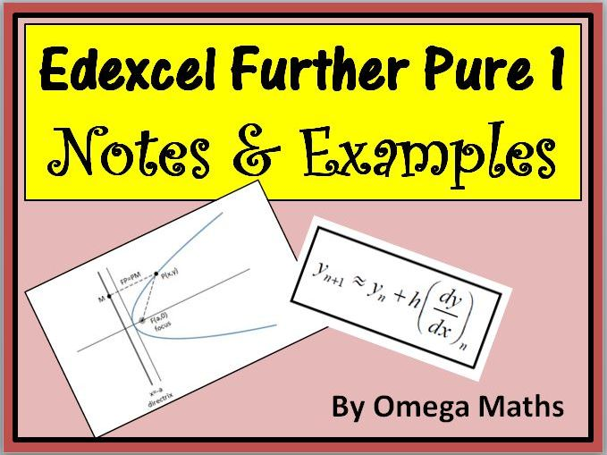 Edexcel Further Pure 1 Notes & Examples