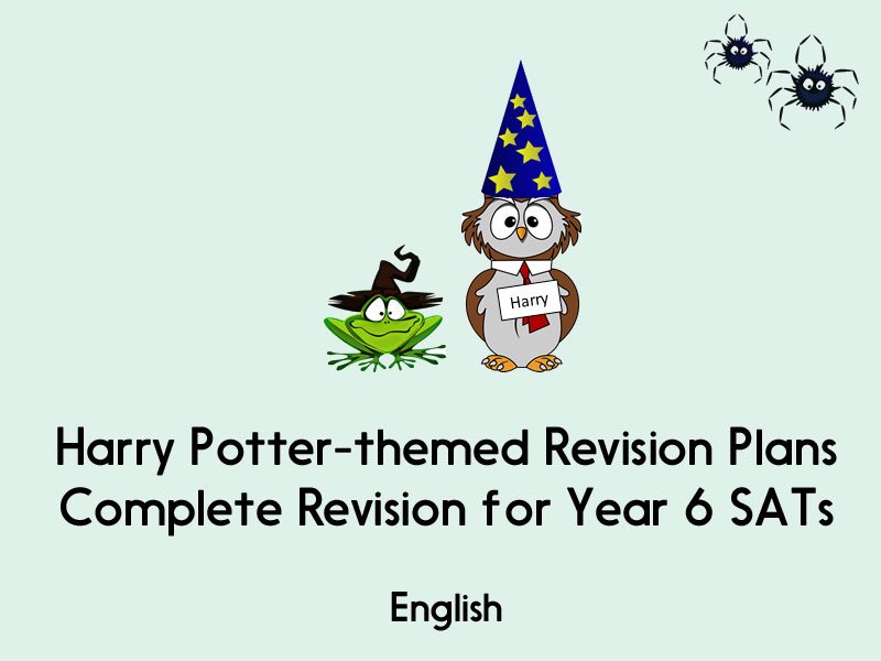 Complete Revision for SATs - Harry Potter-themed Revision Plans