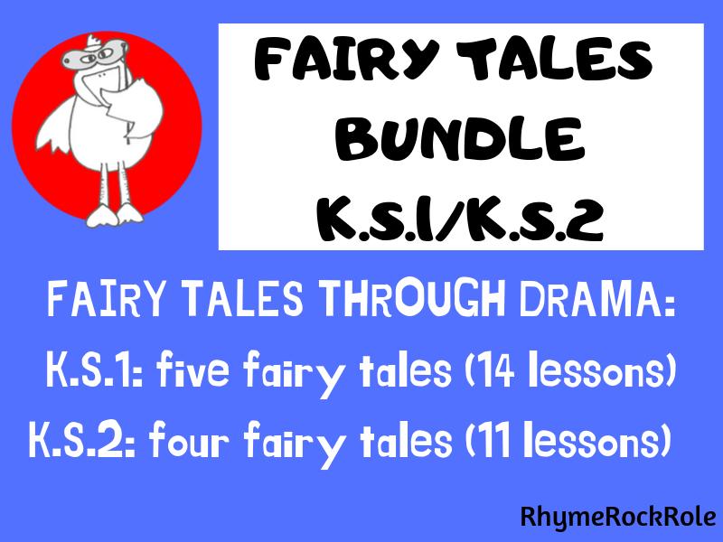 FAIRY TALES DRAMA BUNDLE - K.S.1/K.S.2