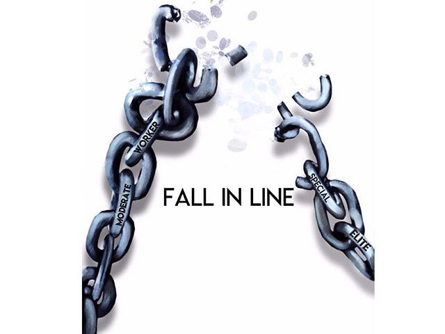 English Language Paper 1 Practice Paper: Fall in Line
