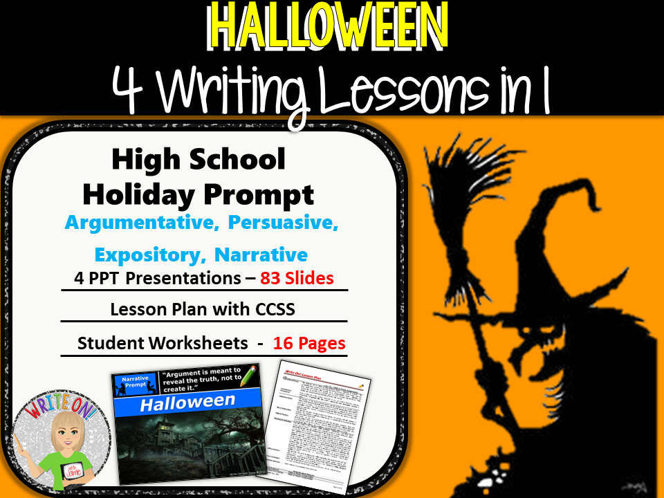 narrative halloween essays Teachers, you are invited to use these halloween writing ideas as story starters or as journal writing prompts with your students each writing prompt listed below may also be used for a group halloween writing project with kids and are especially useful for students in 1st through 3rd grade.