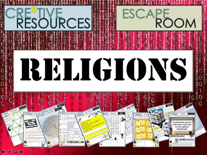 Religion RE Escape Room - End of Term