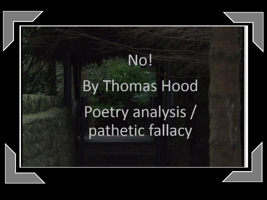 thomas hood analysis