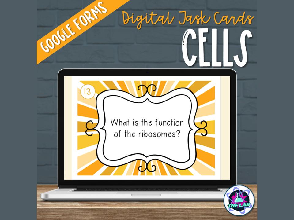 Cells Digital Task Cards
