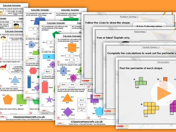 Year 2/3 Mixed Age Spring Block 4 Step 9 Maths Lesson Pack