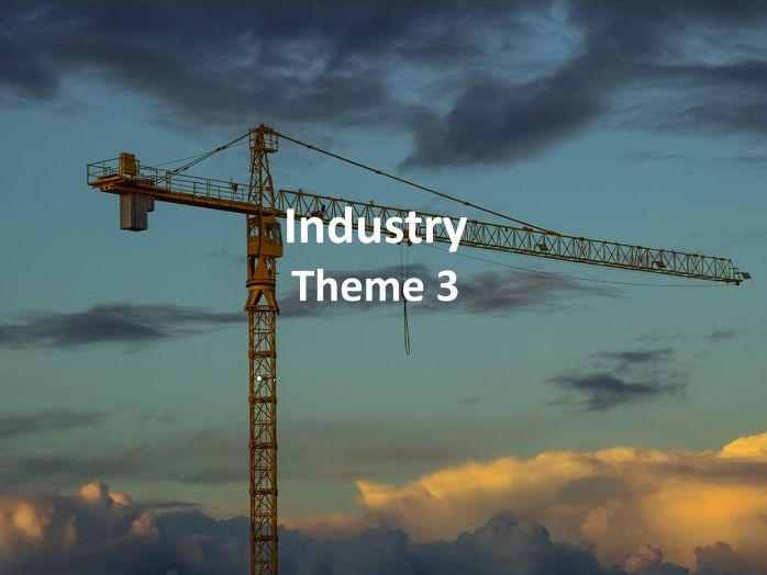 IGCSE Economic Development - Industry
