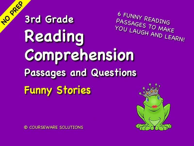 3rd Grade Reading Comprehension - Funny Stories