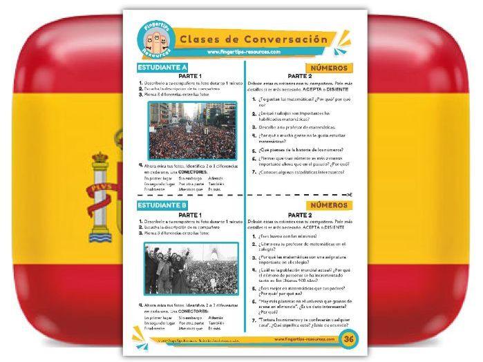 Números - Spanish Speaking Activity