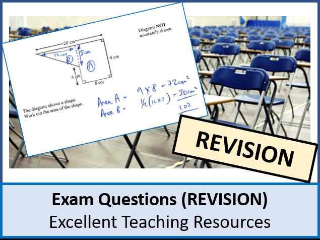 Algebra: Formula Exam Questions