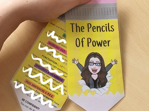 KS3/4 Pencils of Power!