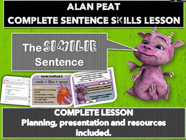 'SIMILE' COMPLETE LESSON (ALAN PEAT) KS2