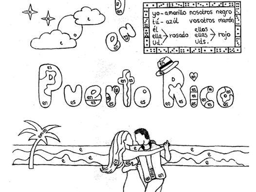 Color by conjugation preterite of regular AR-verbs Spanish no prep practice