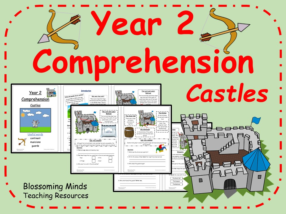 Year 2 SATs Reading - Castles Comprehension