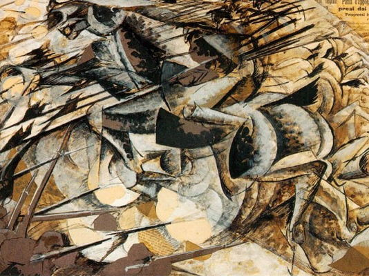 Umberto Boccioni quotes: on painting art and his life in Italian Futurism - for students and pupils