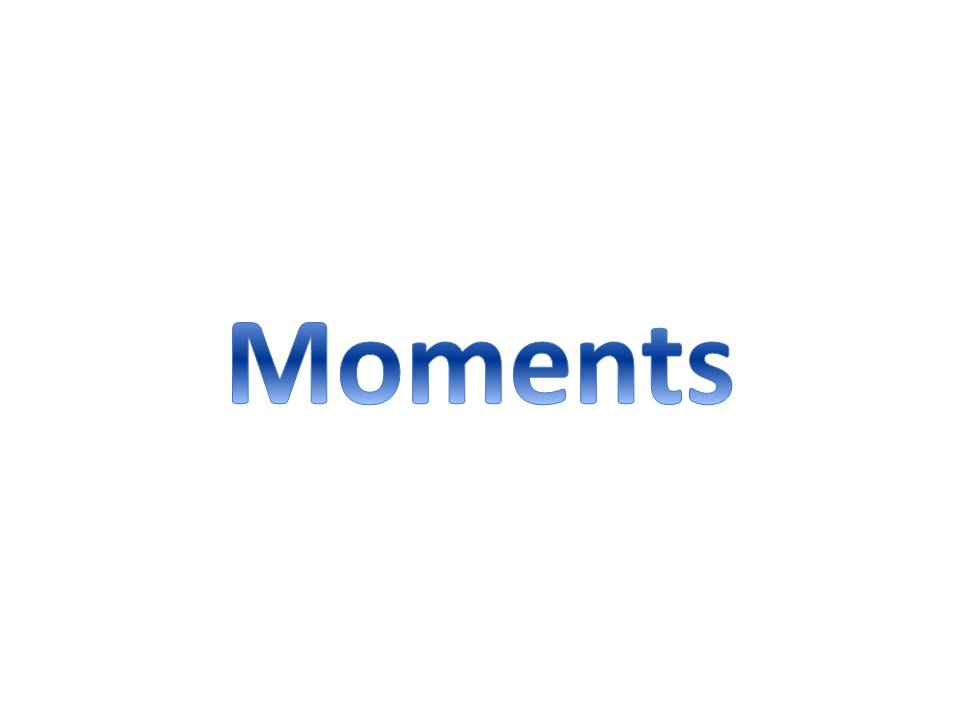 Moments Revision Sheet