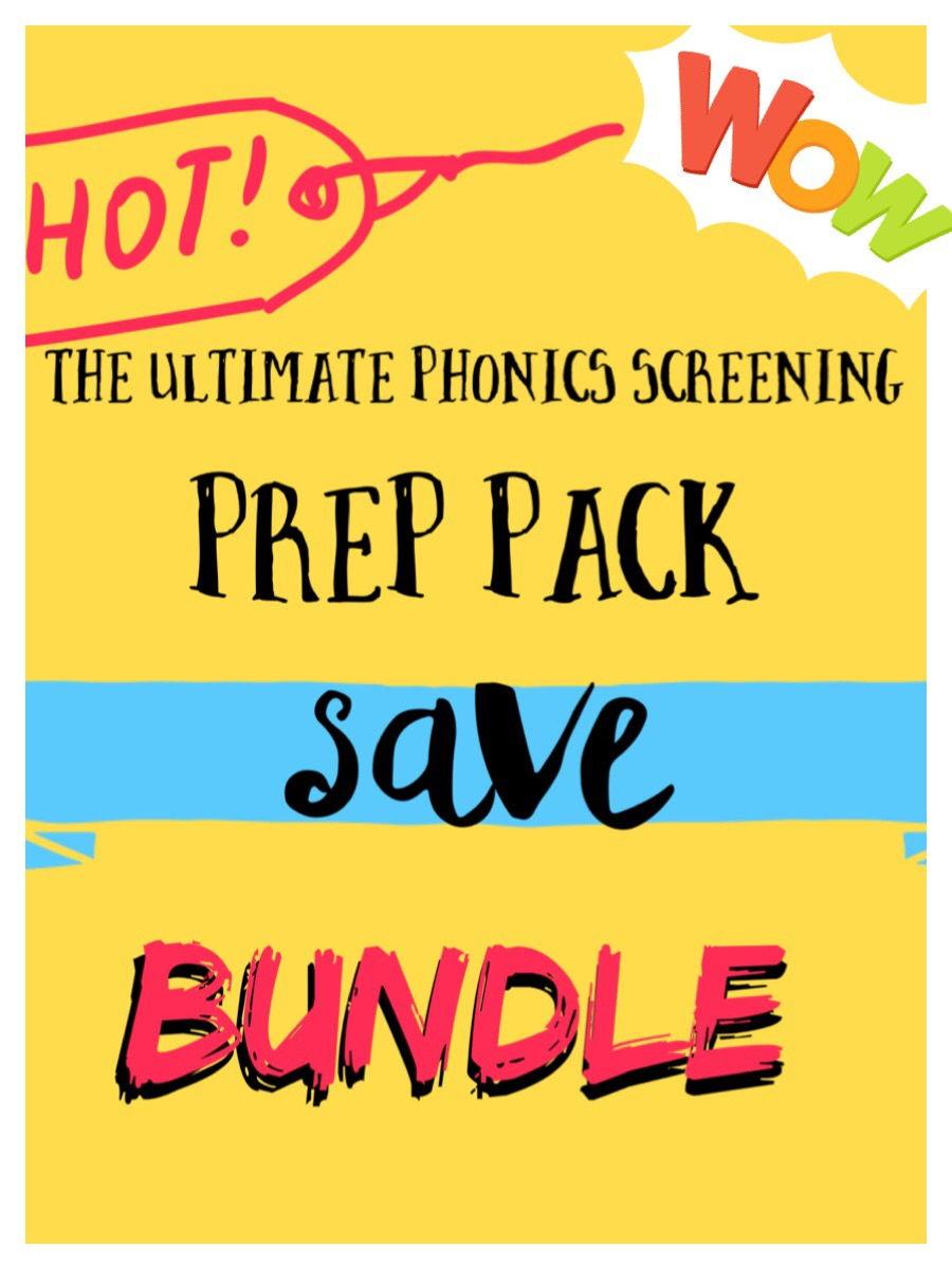 The Ultimate Phonics Screening Prep Pack