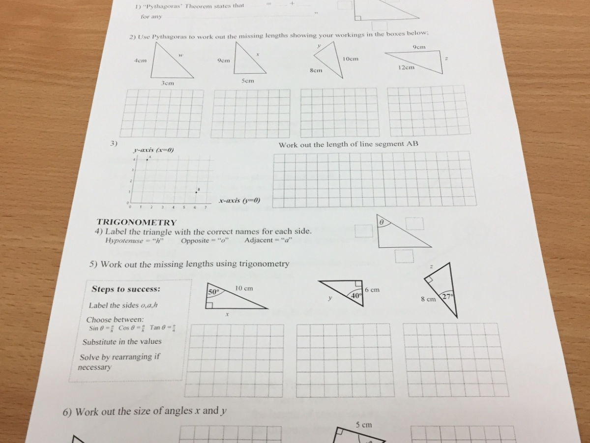 Common entrance Maths preparation