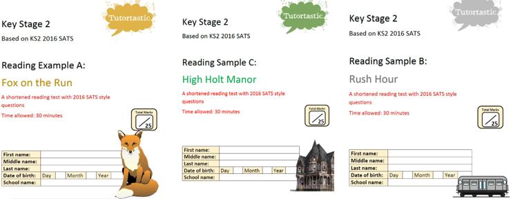 KS2 SATS Reading Comprehension Bundle
