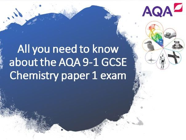 C1 Revision power-point - All you need to know for the AQA Chemistry paper 1 exam - RP's included