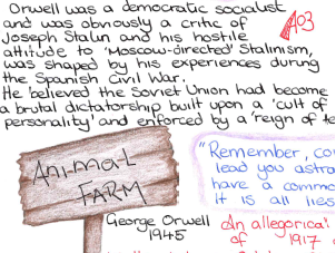 GCSE Animal Farm Revision Mat