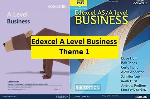 Edexcel AS A Level Business Theme 1