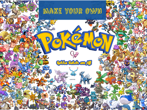 Pixel Art & Animation - Make your own Pokemon