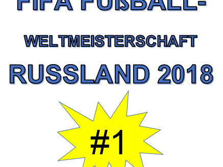 World Cup 2018 Russia/ Weltmeisterschaft 2018 Russland - Workbook