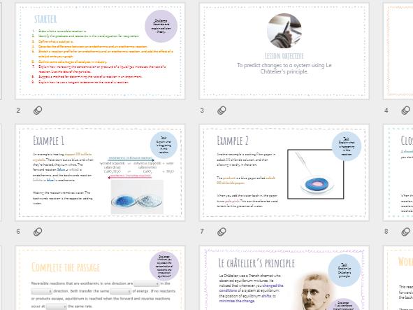 AQA GCSE Chemistry - Dynamic equilibrium