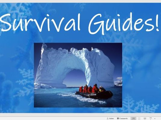 Year 4 Shackleton Survival Guide Complete English Unit Live Lessons