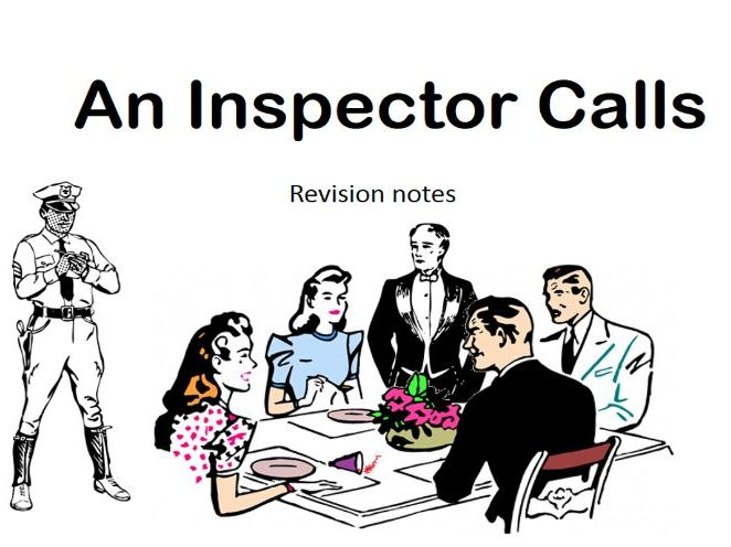 Revision activity for An Inspector Calls