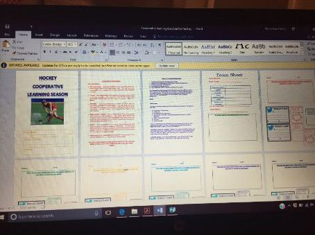 Sport Education Booklet / Cooperative Learning Booklet