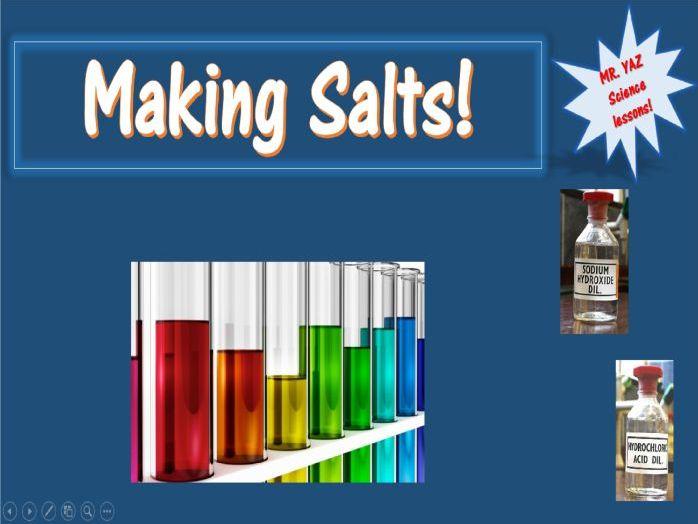 Acids and Alkalis Making Salts KS3 Science
