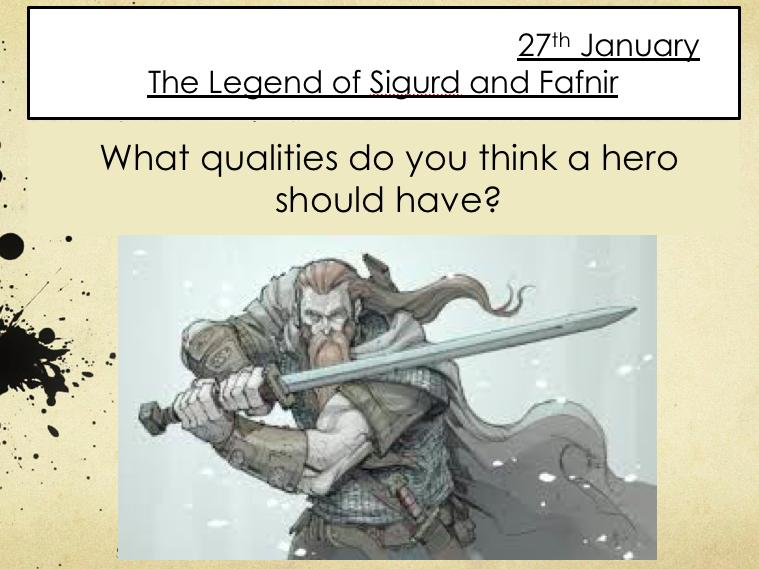 Norse Mythology - Sigurd and Fafnir