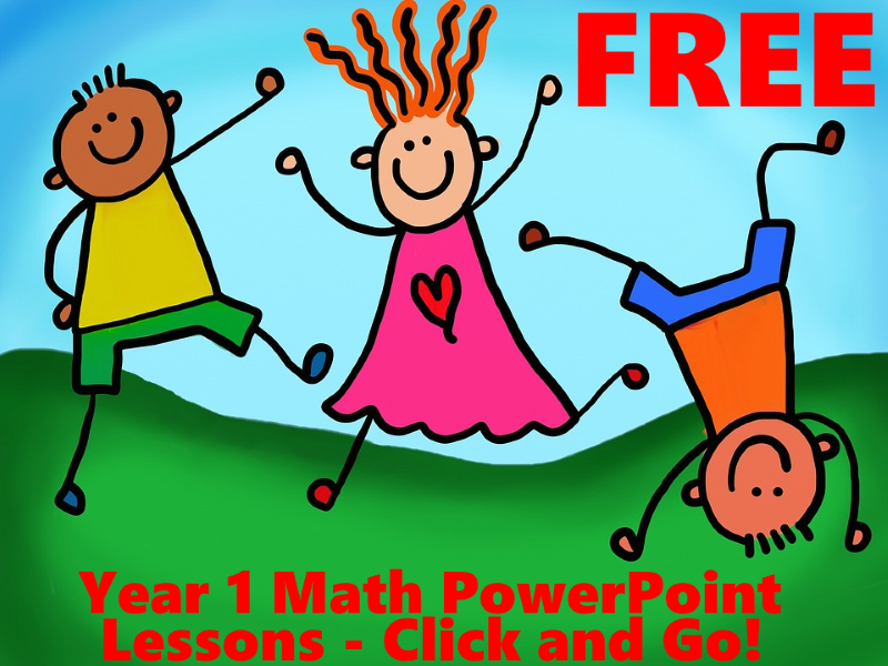FREE Year 1 Maths PowerPoint Lessons - 11 Lessons for Spring And ...