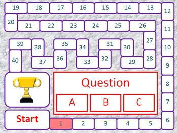 General English Questions Game 1