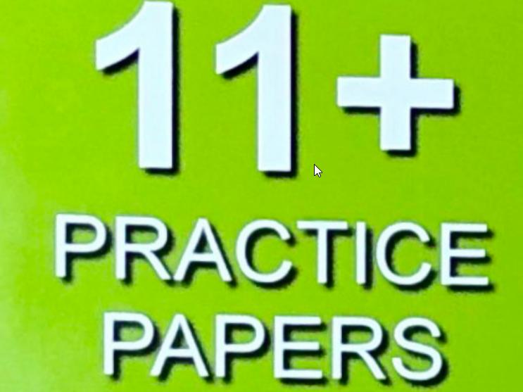 11+ FULL CEM MOCK TEST FREE