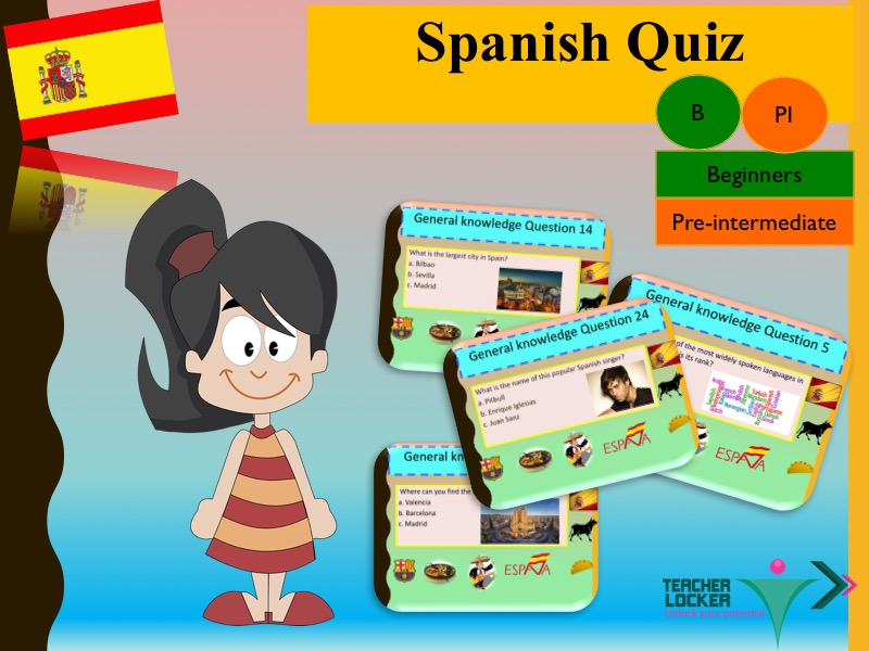 Spanish End of year Quizz